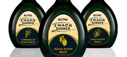 Kosher pálinka, label design