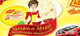 Maggi Kitchen Fairy promotional campaign, microsite