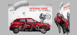Nissan Juke, office decoration