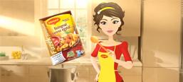 Maggi Kitchen Fairy promotional campaign