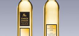 Zwack Sándor Nemes Pálinka selection, label design